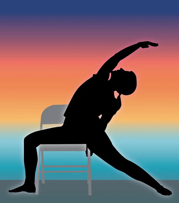 Chair yoga at Covent Garden Community Centre