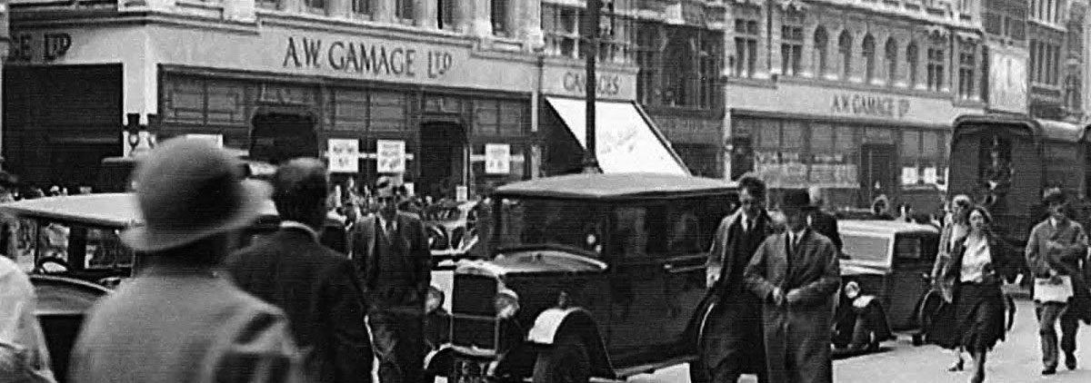 Historic photograph of Holborn