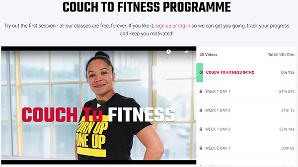 Couch to fitness
