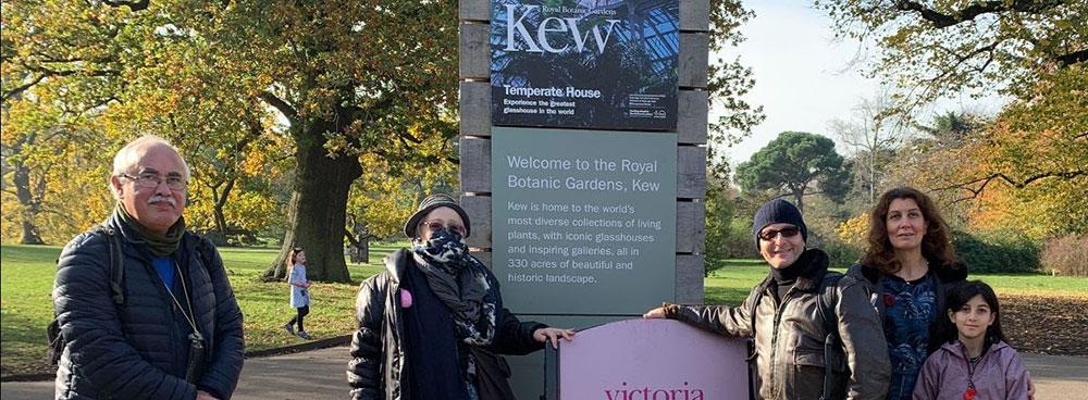 Trip to Kew Gardens