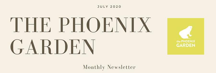 Phoenix Garden Newsletter