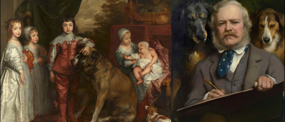 Royal Dogs in Art