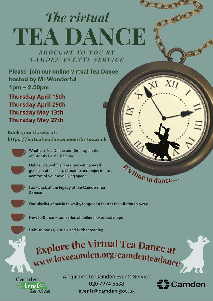 Tea Dance publicity