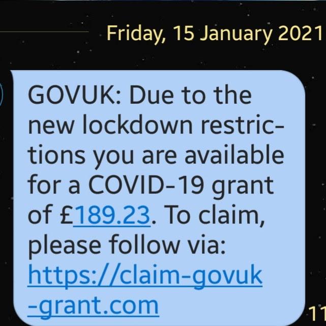 Scam notice